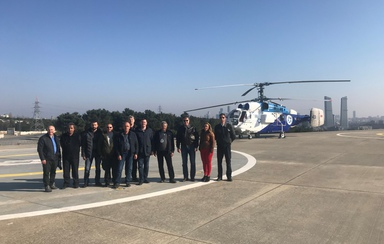 PANH Helicopters' crew carried out ferrying of aircraft owned by Kaan Air, a Turkey-based company.