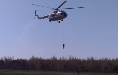 The MIL 8 helicopter with the crew of «PANH Helicopters» went on duty