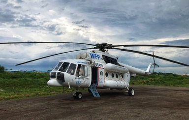 PANH provides helicopter support for humanitarian missions in Africa